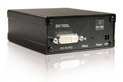 Усилитель-распределитель DVI-SPD 1x4H. Вид со стороны «входа»