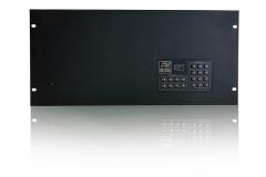 Матричный коммутатор DVI-SW 20x20. Вид с лицевой стороны