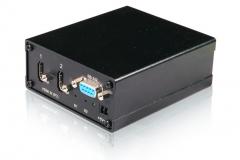 Автоматический коммутатор HDMI-сигнала AV Production HDMI-SW 2x4. Вид со стороны входа