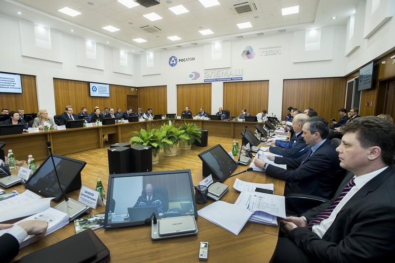 Конференц-зал машиностроительного завода «Элемаш» Госкорпорации «Росатом»