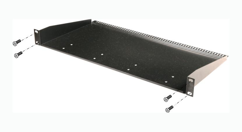 Полка для рэкового шкафа, AV Production, MP-RM-1U