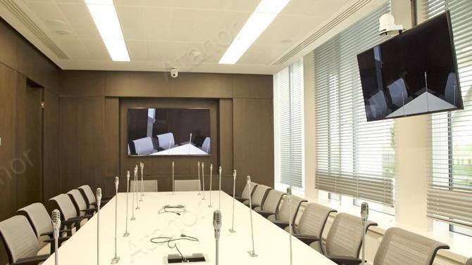 Продукция AV Production в штабе-квартире «Ростелекома»
