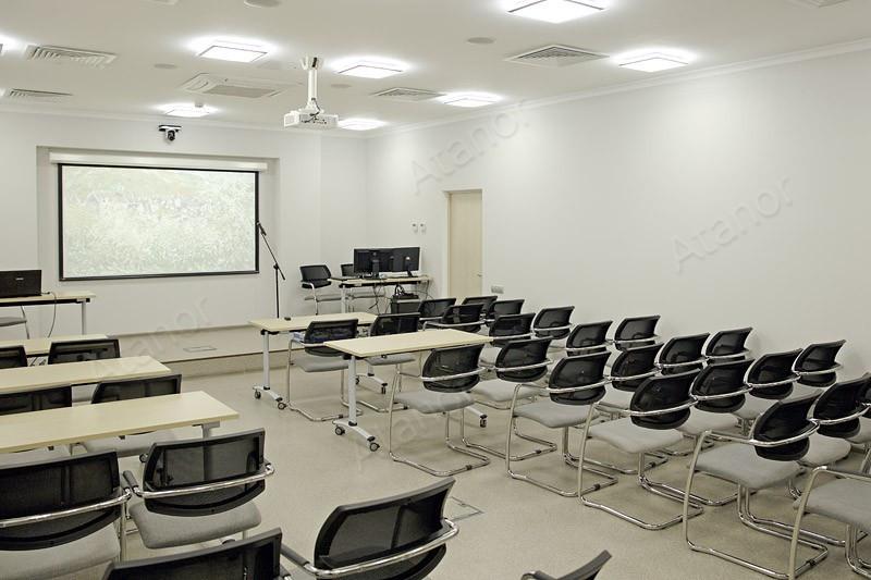Системы управления и коммутации на основе оборудования AV Production в учебной аудитории Ступинского химзавода