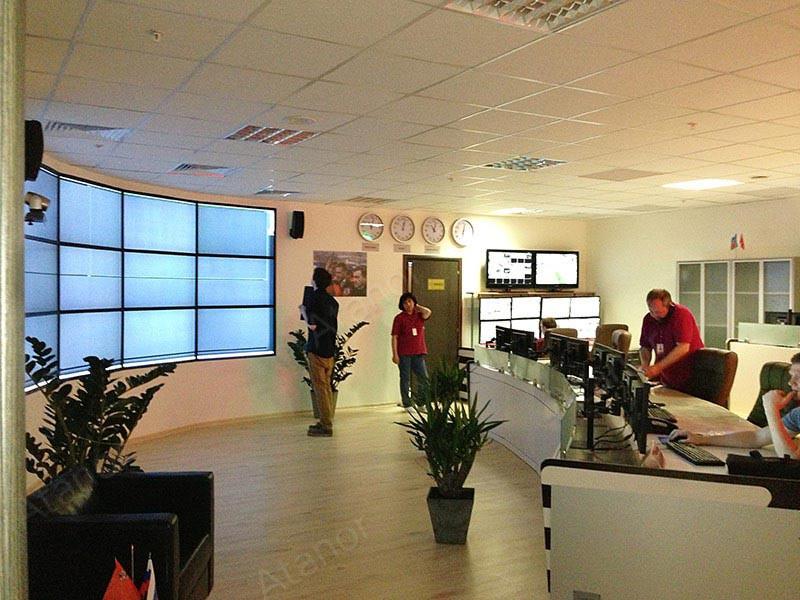 Оборудование AV Production установлено в ситуационном центре Крокус-сити