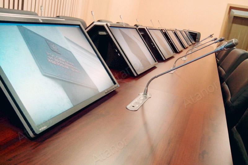 Оборудование AV Production легло в основу оснащения VIP конференц-зала в РФЯЦ-ВНИИТФ.