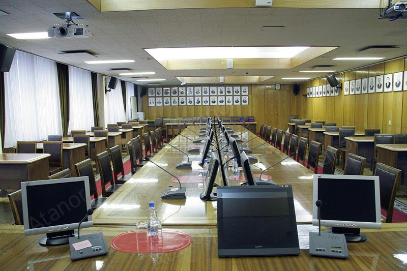 Системы AV Production использовались при модернизации залов в «Рособразовании».