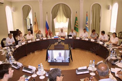 Современный конференц-зал для ПГУ