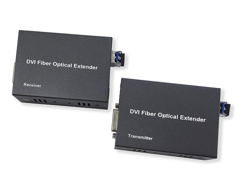 Комплект передачи DVI сигнала по волоконно-оптической линии DVI-OPT-TR-RS