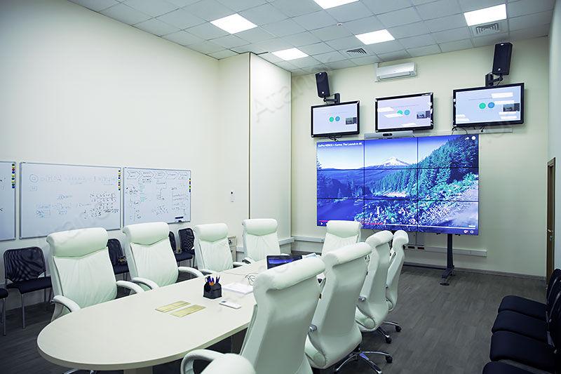 Оборудование конференц-зала «Мосэнергосбыта»