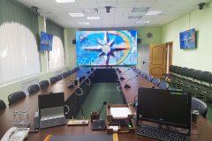 Новый этап модернизации AV-систем в ЦОД ГО ЧС Курской области