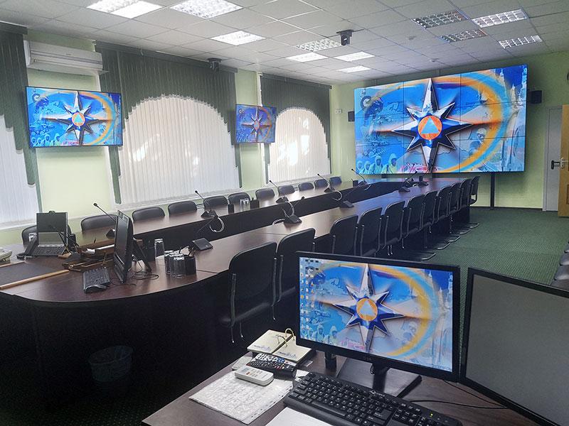 Модернизация ЦОД ГО ЧС Курской области