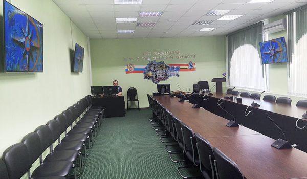 Центр мониторинга и принятия оперативных решений Курской области