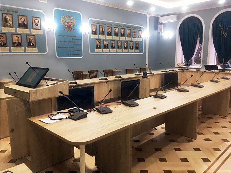 Модернизация AV-оборудования в зале заседаний ПГУ