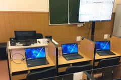 Оборудование лингафонного кабинета для Московского высшего командного училища